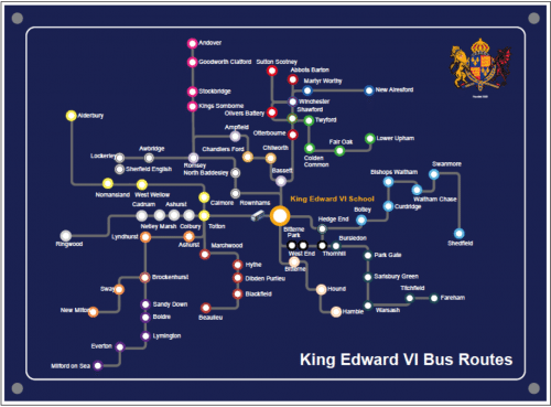 Extensive Bus Network – King Edward VI on